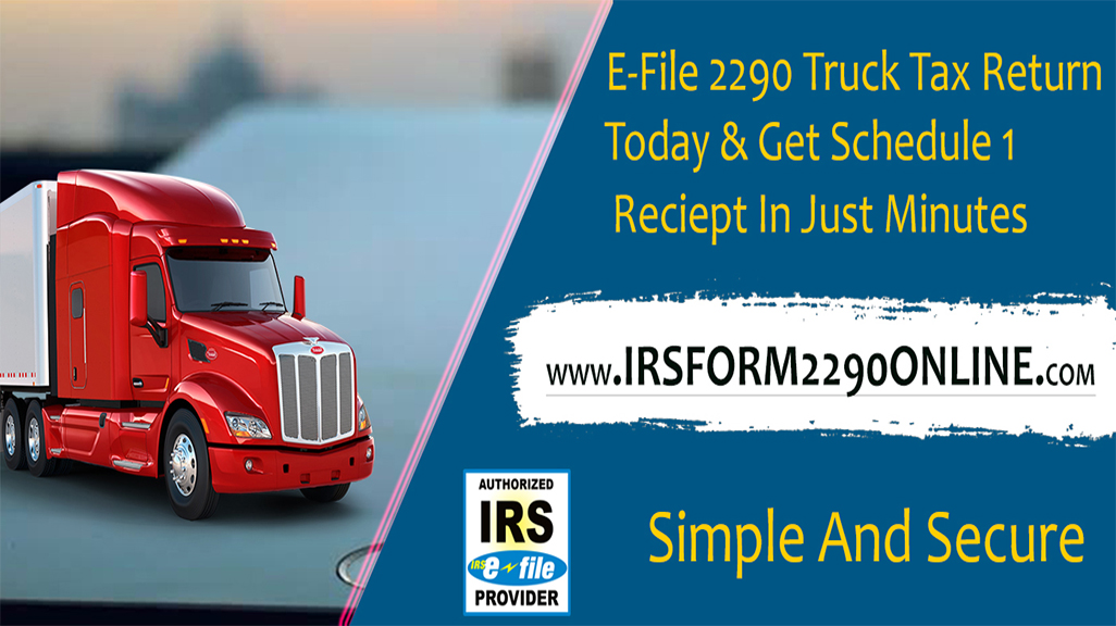 irs form 2290 online