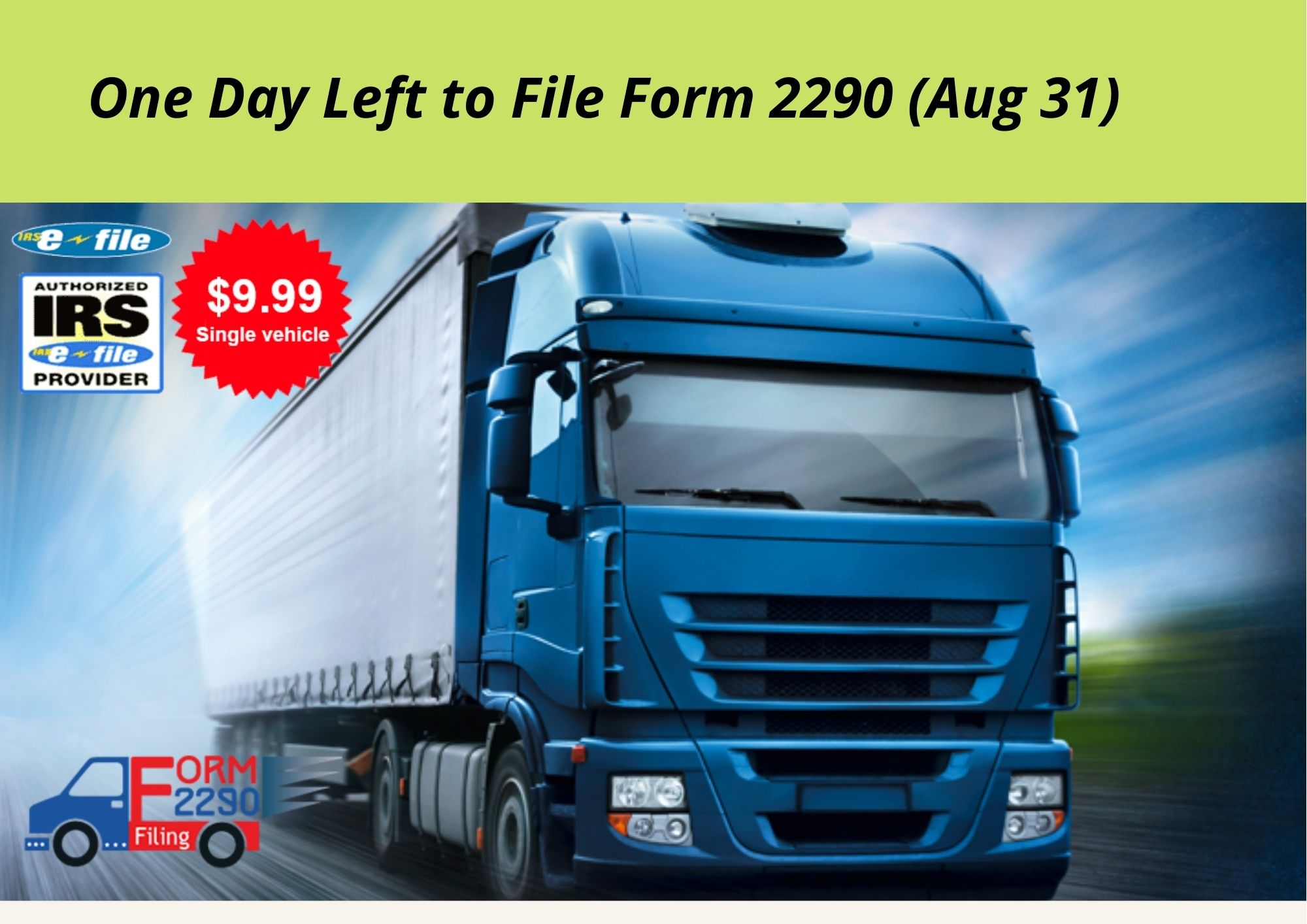 One-Day-Left-to-File-Form-2290-Aug-31