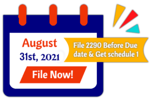 form 2290 due date for 2020-2021